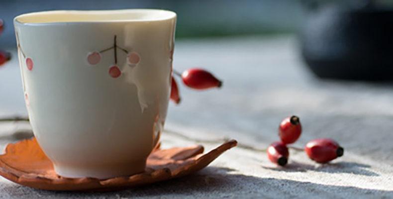 Les tasses à thé des Jardins de Gaïa © les Jardins de Gaïa