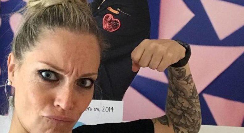 Depuis la fin de sa formation aux Etats-Unis en janvier 2017, Alexia a déjà tatoué un peu plus de 150 femmes et deux hommes. © Alexia Cassar (via Instagram)