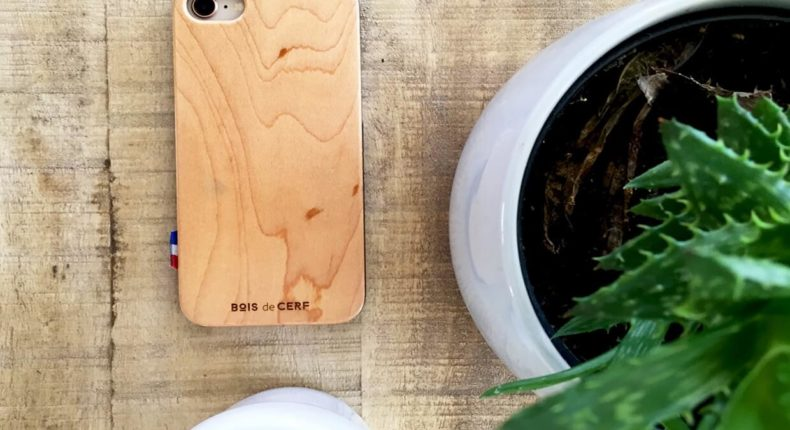 bois de cerf coques iphone