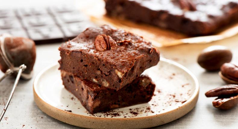 Comme un brownie au chocolat et aux noix de péchant - DR . Mon Quotidien Autrement - E. Montuclard