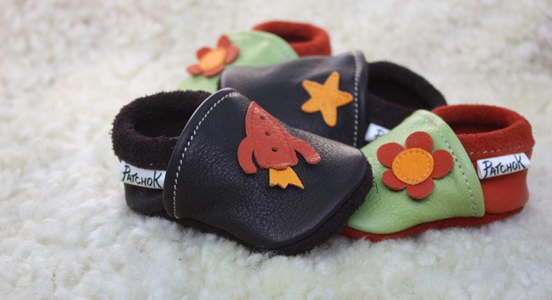 Les chaussons de la marque Patchok sont fabriqués dans l'atelier d'Emilie, en Ariège.