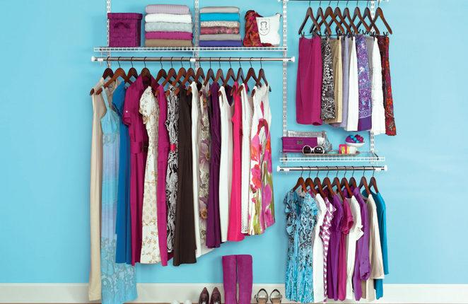 60 % des nos vêtements sont composés de fibres synthétiques. © Rubbermaid Products