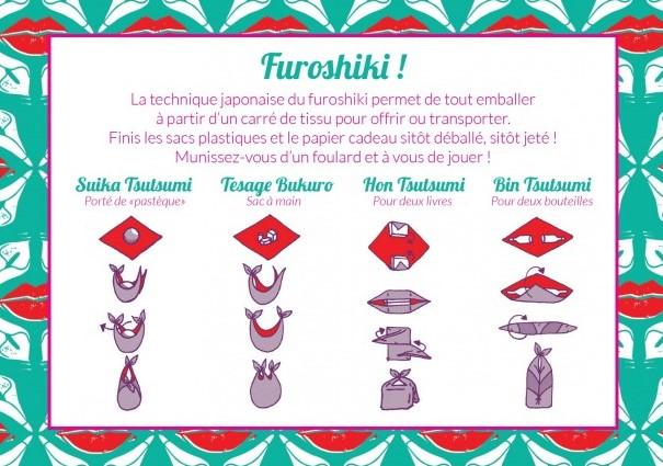 Emballer ses cadeaux avec la technique furoshiki