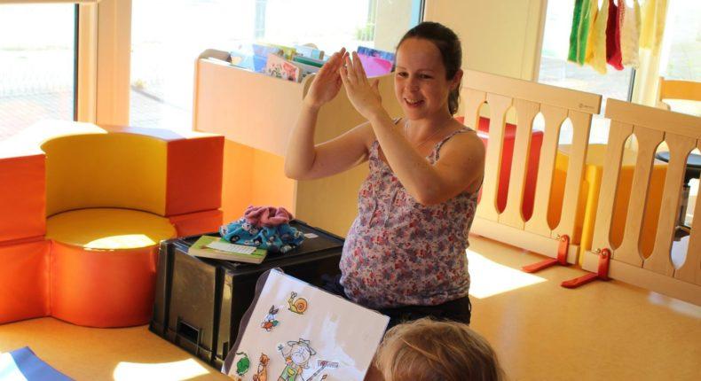 langue des signes bébés
