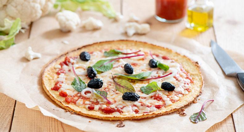 Pizza en pâte de chou-fleur - DR Mon Quotidien Autrement - E. Montuclard