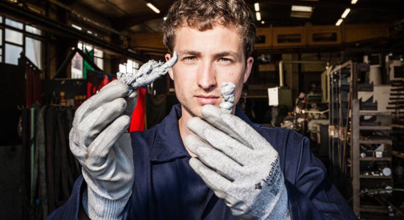 Simon Bernard est le responsable de l'expédition Plastic Odyssey © Tristan Reynaud