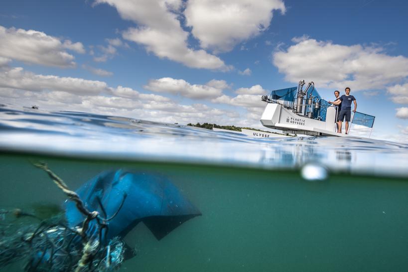 13 millions de plastiques finissent dans les océans chaque années. © Lucas Santucci
