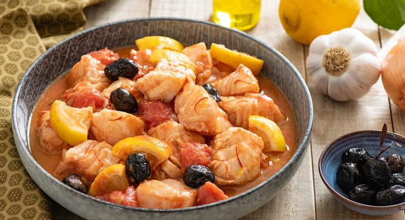Tajine de cabillaud au citron et olives - DR Mon Quotidien Autrement - E. Montuclard