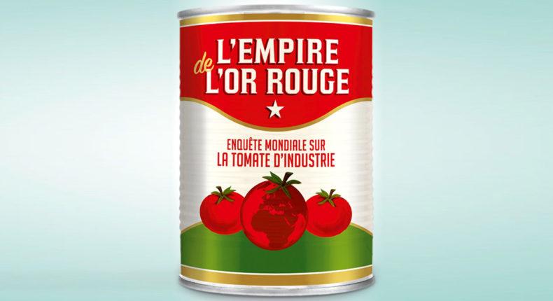 Dans l'Empire de l'or rouge, Jean-Baptiste Malet dénonce les dérives sur le marché de la tomate d'industrie.
