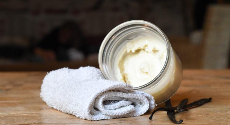 Beurre corporel à la vanille - DR Mon Quotidien Autrement - M. Casamayou & L. Poisson