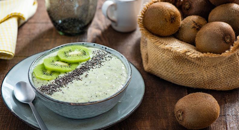 Pudding au kiwi et graines de chia - DR Mon Quotidien Autrement - E. Montuclard