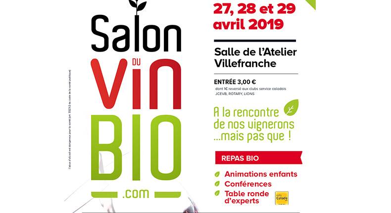 Le premier salon des vins bio dans le Beaujolais