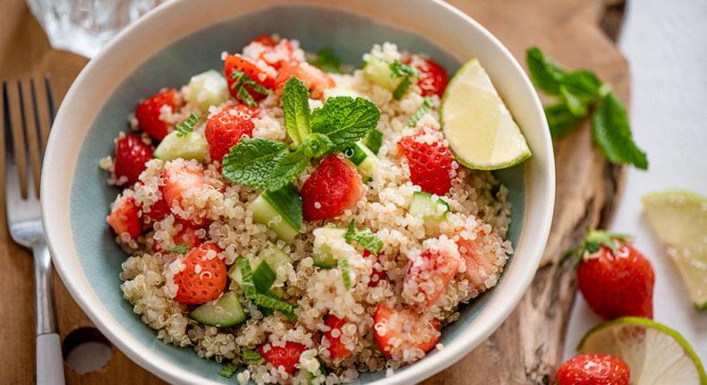 Taboulé de quinoa aux fraises - DR Mon Quotidien Autrement - E. Montuclard