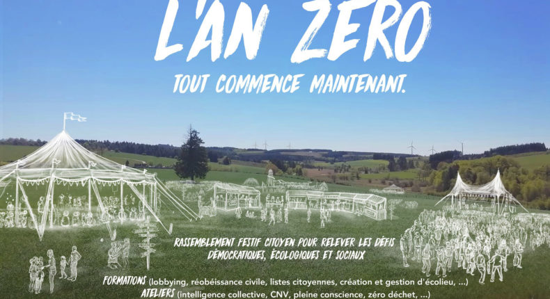 Le festival l'An Zéro.
