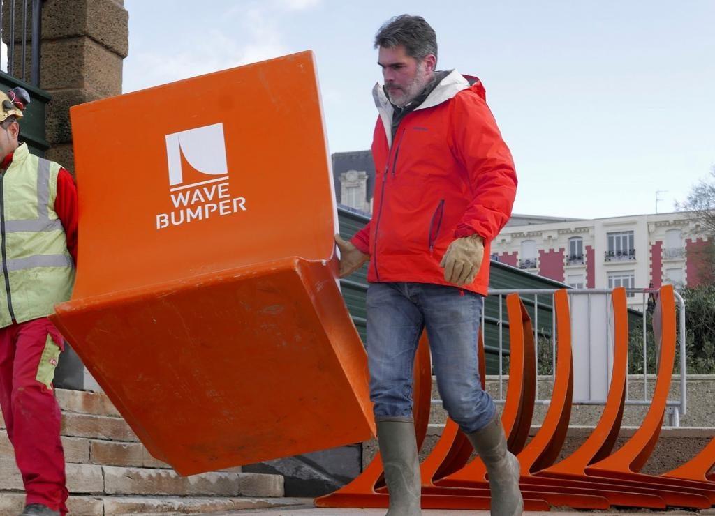 Romain Chapron, fondateur de Wave Bumper.