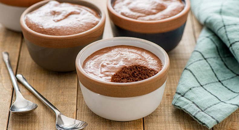 Mousse au chocolat vegan - DR. Mon Quotidien Autrement - E. Montuclard