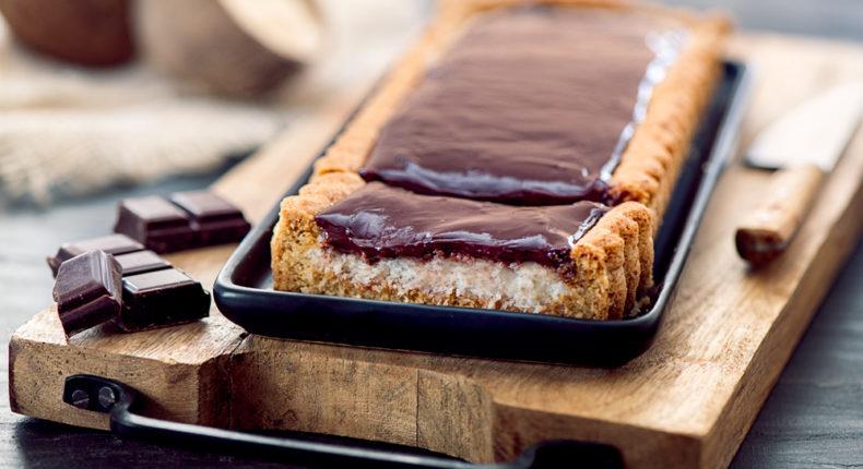 Tarte au chocolat et à la noix de coco - DR Mon Quotidien Autrement - E. Montuclard