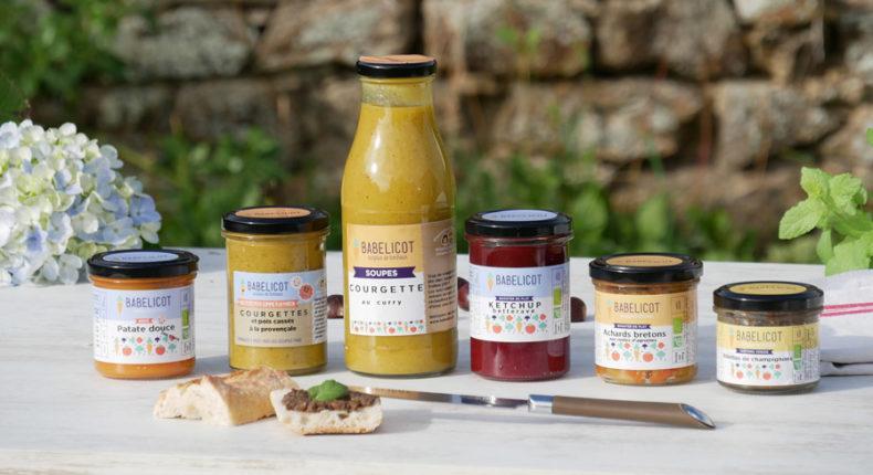 Babelicot produit des bocaux à des légumes bio invendus de petits maraîchers.