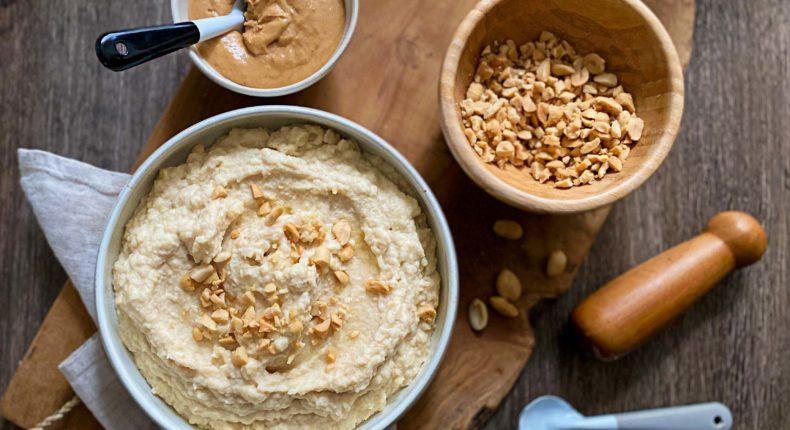 Purée de céleri rave aux cacahuètes - DR Mon Quotidien Autrement - E. Montuclard
