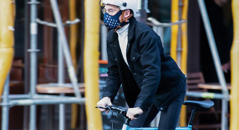 Le masque antipollution R-pur.