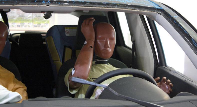 Dans l'industrie automobile, les essais de collisions sont faits avec des mannequins masculins. © Benjamin