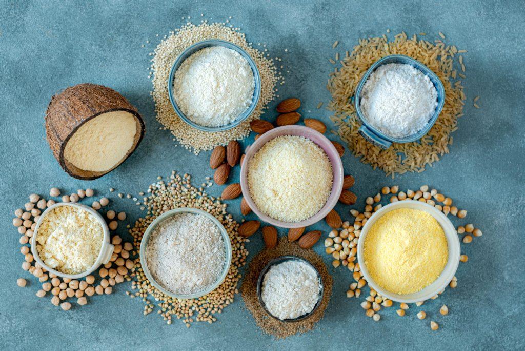 Quelques farines sans gluten - DR Mon Quotidien Autrement - © Emilie Montuclard