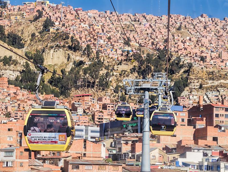 Téléphérique de La Paz.